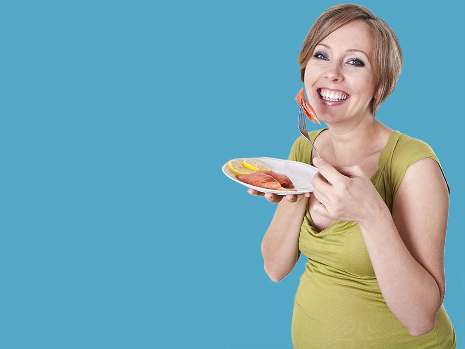Beneficios de consumir pescado durante el embarazo