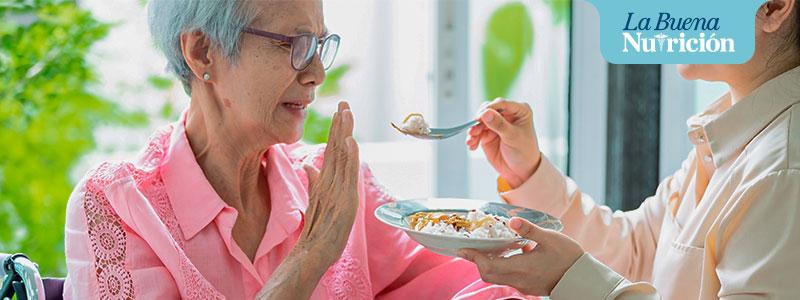 hiporexia o desnutricion