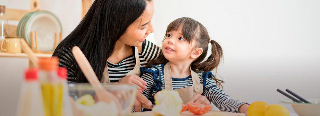 ¿Eres mamá de un menor de 5 años? Sigue estos consejos de nutrición