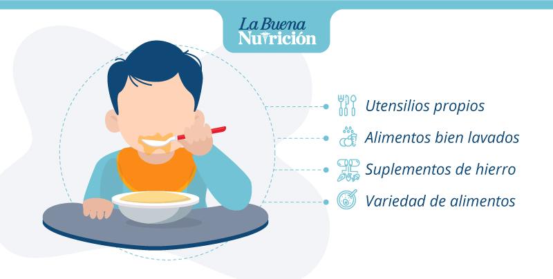 consejos para la alimentacion del niño