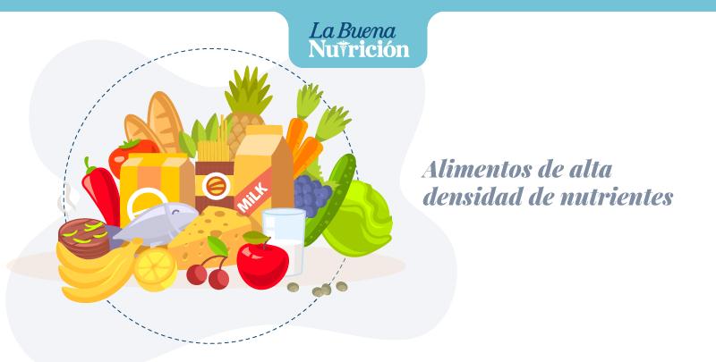 alimentos alta densidad de nutrientes