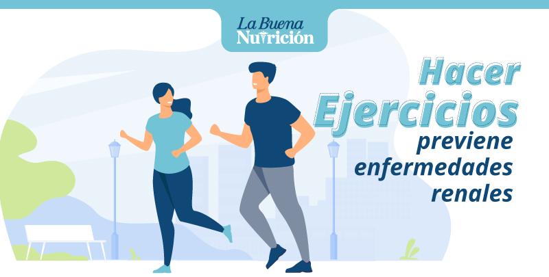 hacer ejercicios previene enfermedades renales