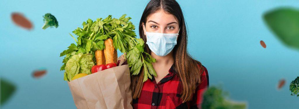 ¿Cómo mantener una alimentación saludable durante la pandemia del COVID-19?