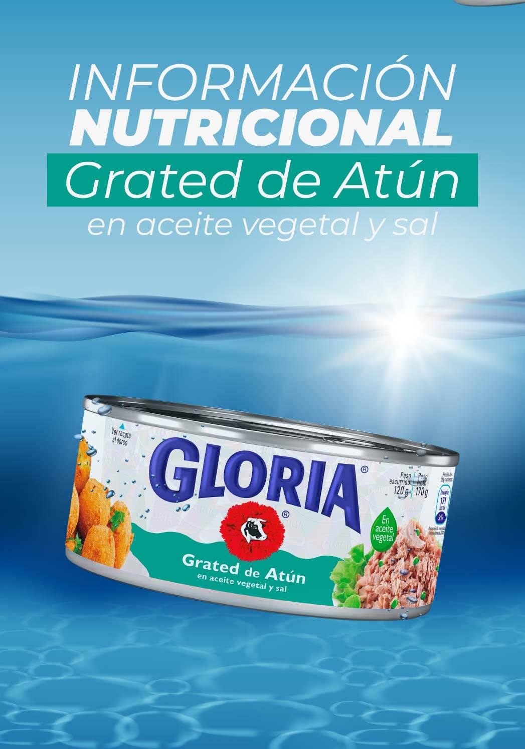 Grated de Atún Gloria