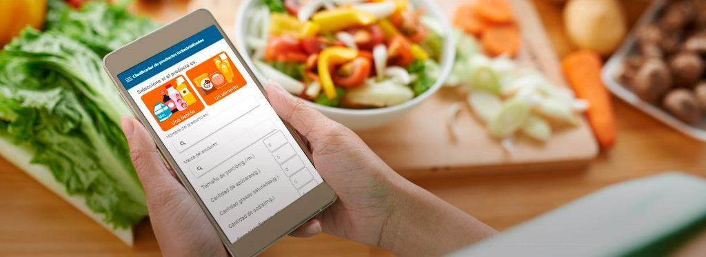 Conoce la App de nutrición que brinda información de los alimentos