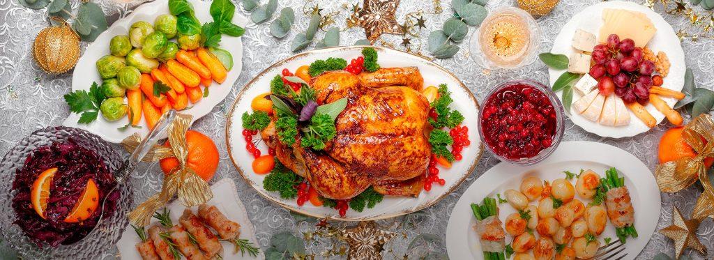 Ten una cena navideña deliciosa y saludable