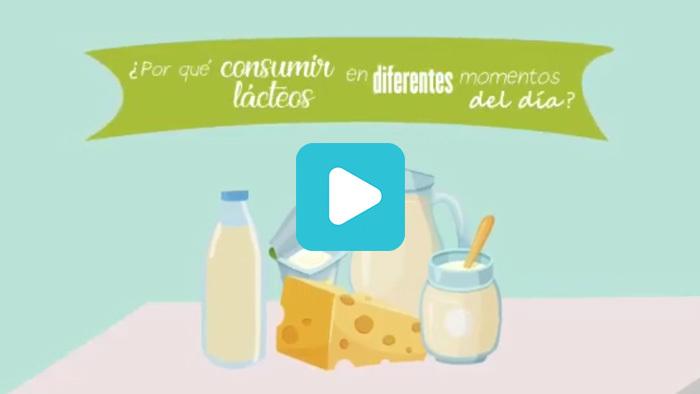 ¿Por qué consumir lácteos en diferentes momentos del día?