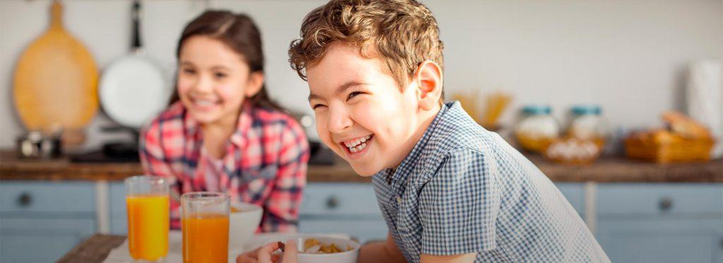 Dieta para niños de 9 a 11 años en estas vacaciones